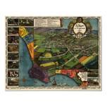 Los Angeles - 1871 (Gore) BigMapBlog Poster