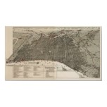 Philadelphia birdseye map  - 1887 (McFetridge) Big Print