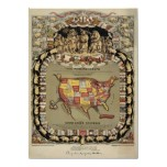 """This Porcineograph"" (Forbes) 1876 BigMapBlog.com Print"