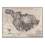 San Francisco fire map - 1908 (Punnet Bros) BigMap Print