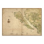 "Vingboons ""California as an Island"" (1650) Reprint"