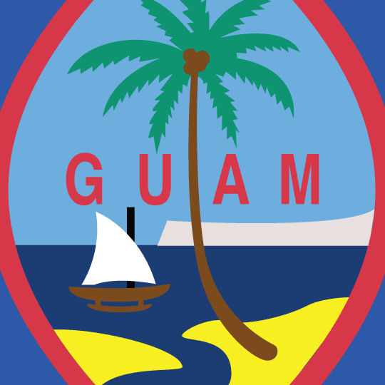 Four Maps of Guam image detail