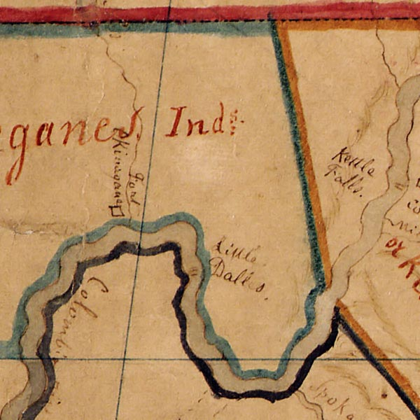 Territories of North American Indian Tribes image detail