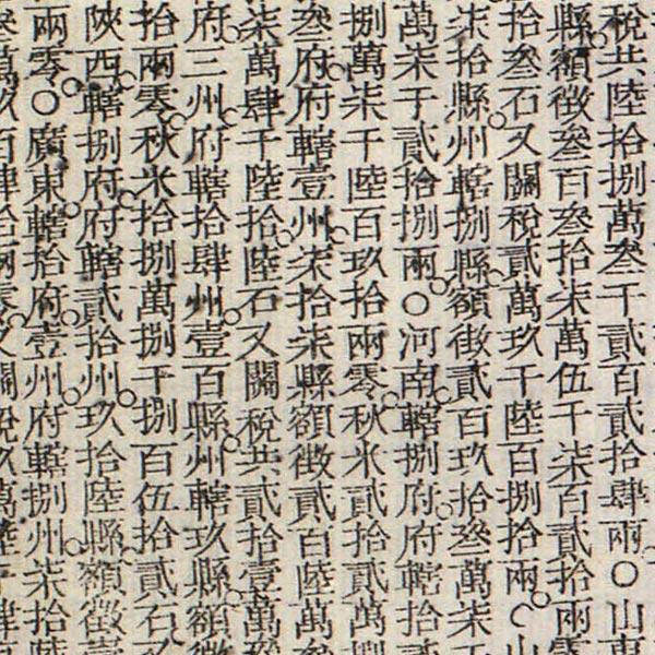 San cai yi guan tu  image detail