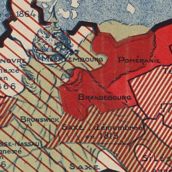 War is the National Industry of Prussia image detail