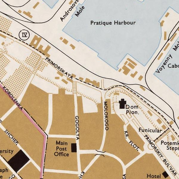 Odessa Town Plan image detail