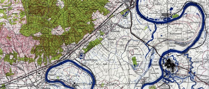 Dutch Topo Maps From The Us Army 1944 - Us-army-topographic-maps