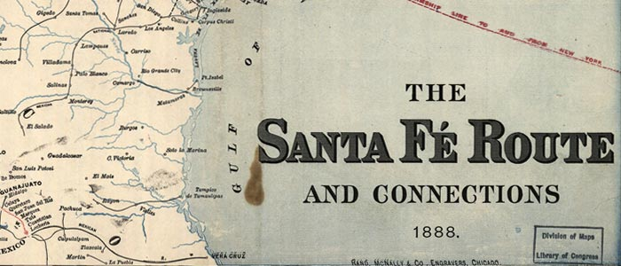 Santa Fé RR and connections wide thumbnail image