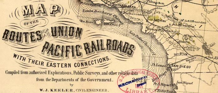 Union Pacific RR and eastern connections wide thumbnail image