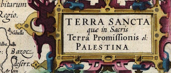 Terra Sancta : Palestina. wide thumbnail image