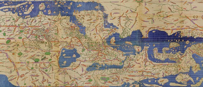 Idrisi's World Map wide thumbnail image