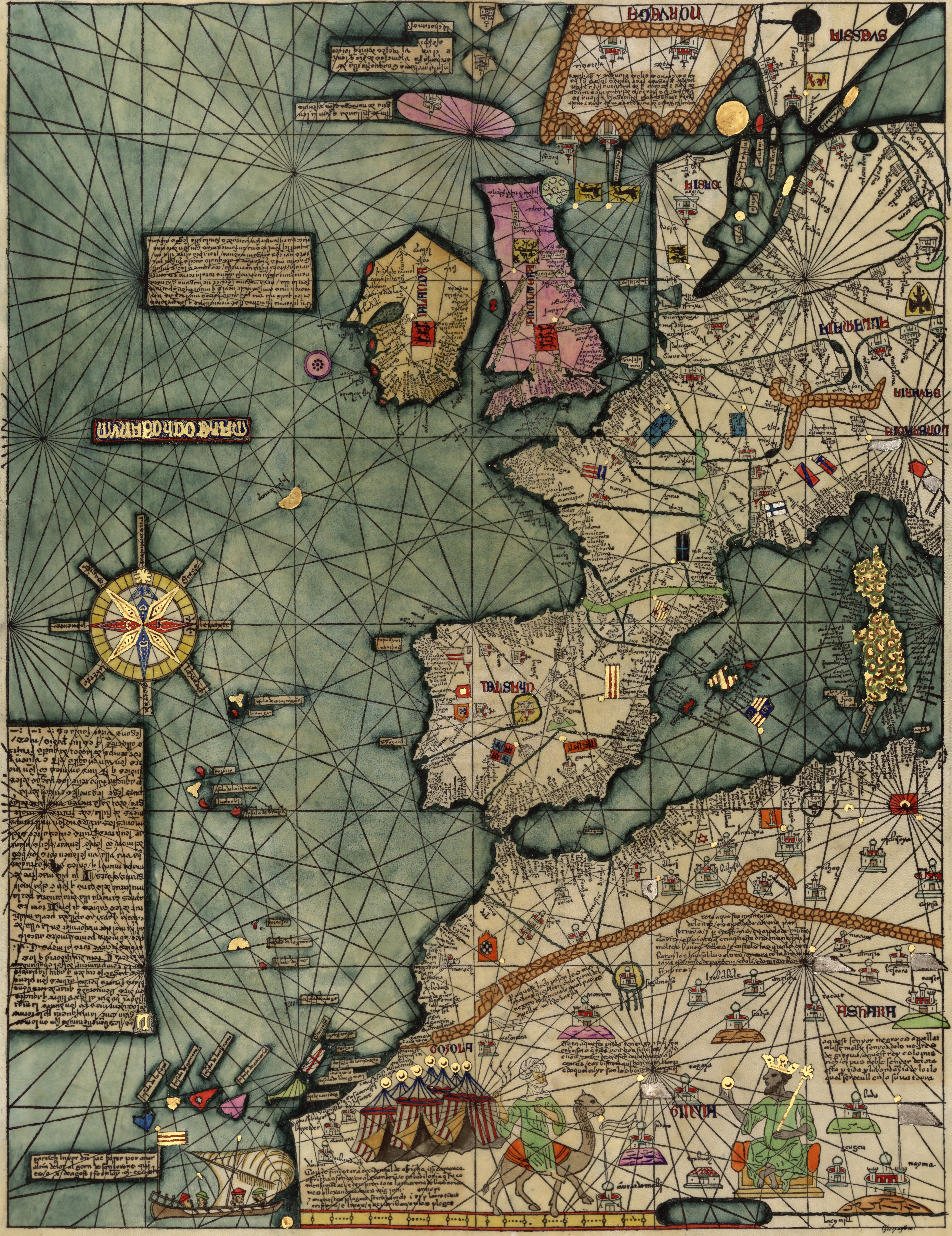 The Catalan Atlas is the most important