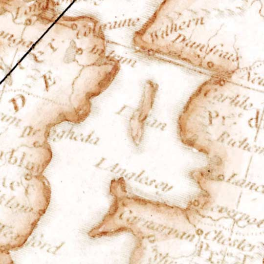 Path of a European Eclipse in 1764 image detail