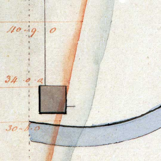Plans for the Washington Canal in Washington D.C. (1802) image detail