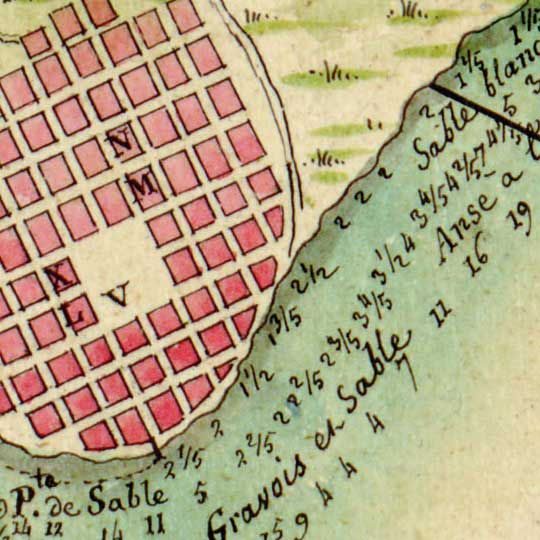 Plans for the Cape, St Nicolas, Haiti (1803) image detail