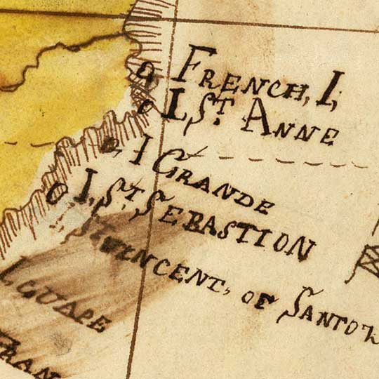 South America. By Bradford Scott (1816) image detail