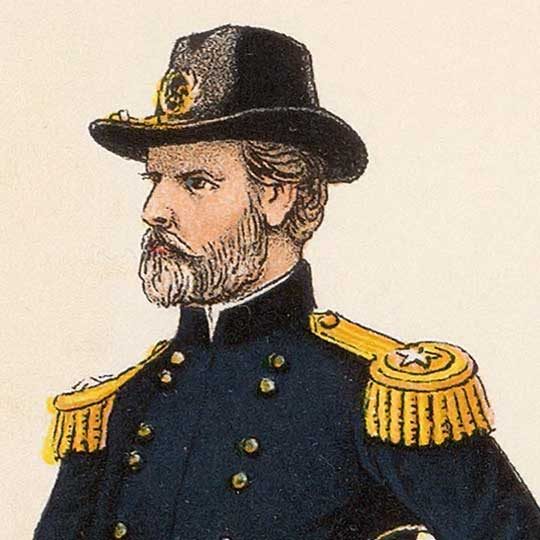 Non-Map: Bien's Civil War Uniforms (1895) image detail
