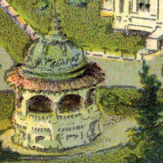 Authorized birds eye view of Seattle's Alaska-Yukon-Pacific Exposition (1909)  image detail