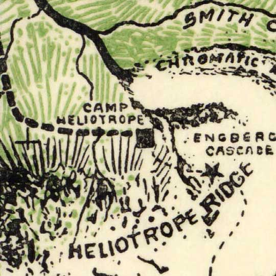 A map of Mt. Baker, Wash. (1912)  image detail