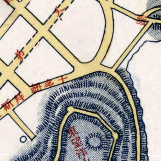Chinese Map of Macau in 1953 image detail
