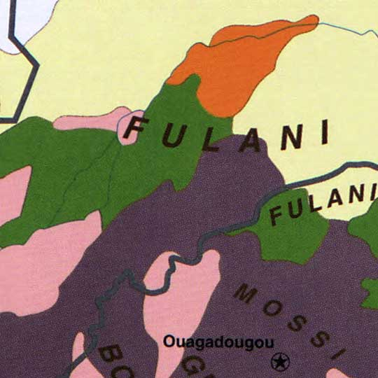 Ethnolinguistic Groups in Africa (1959) image detail