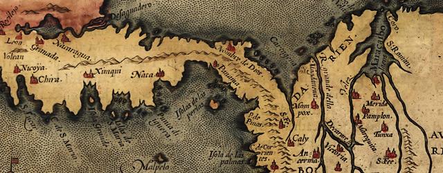 Peruuiae avriferæ regionis typus / Didaco Mendezio auctore. La Florida / auctore Hieron wide thumbnail image