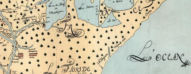 Nouvelle decouverte de plusieurs nations dans la Nouvelle France en l'année 1673 et 1674 wide thumbnail image