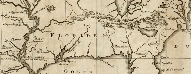 Le cours du fleuve Missisipi selon les relations les plus modernes wide thumbnail image