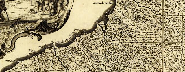 Carta de la Provincia de Quito y de sus adjacentes  wide thumbnail image