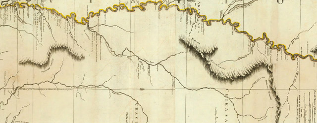 Course Of The River Mississipi, from the Balise to Fort Chartres; Taken on an Expedition to the Illinois, in the latter end of the Year 1765. By Lieut. Ross of the 34th Regiment wide thumbnail image