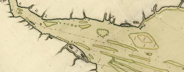 Plano de la Bahia de la Ware y entrada de Filadelfie wide thumbnail image