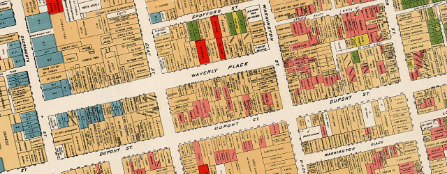 Farwell S Map Of Chinatown In San Francisco 1885