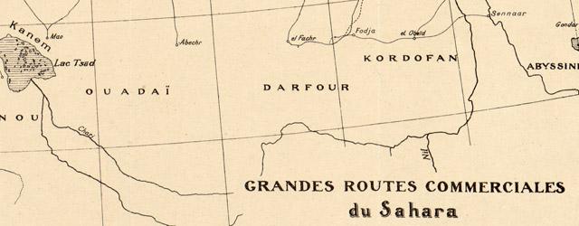 Grandes routes commerciales du Sahara  wide thumbnail image