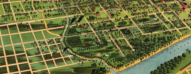 Waco, Texas 1892. wide thumbnail image