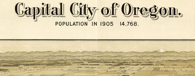 Capital city of Oregon, Salem wide thumbnail image