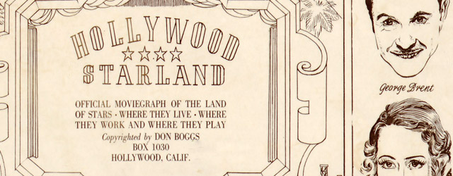 Hollywood starland : official moviegraph of the land of stars, where they live, where they work and where they play  wide thumbnail image