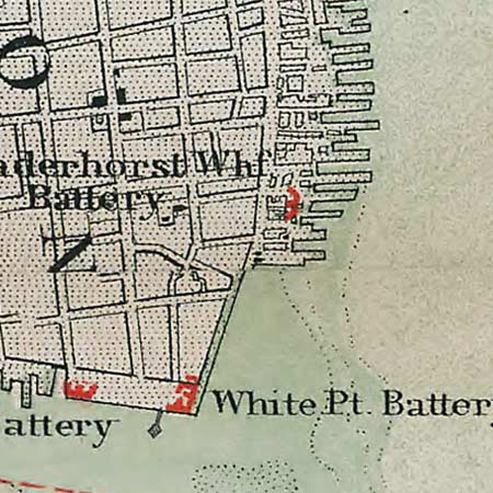 Rebel defenses in Charleston (1865) image detail
