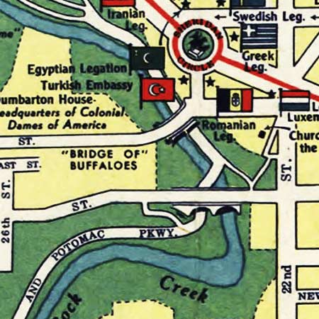 Esso Guide to Washington D.C. (1942) image detail