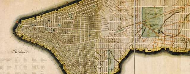 Bridges' survey of New York City (1807) wide thumbnail image