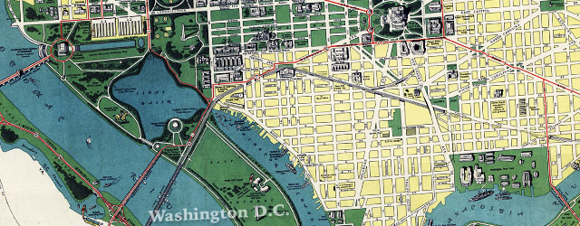 Esso Guide to Washington D.C. (1942) wide thumbnail image