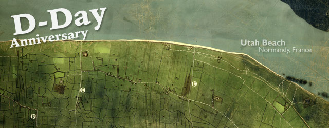 D-Day's right flank, Utah Beach (1944) wide thumbnail image