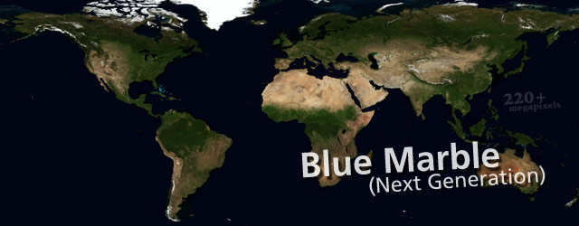 Nasa's Blue Marble, Next Generation (2004) wide thumbnail image