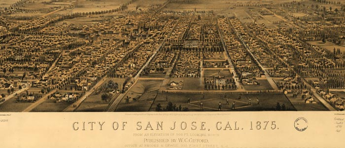 San Jose Birdseye Map image