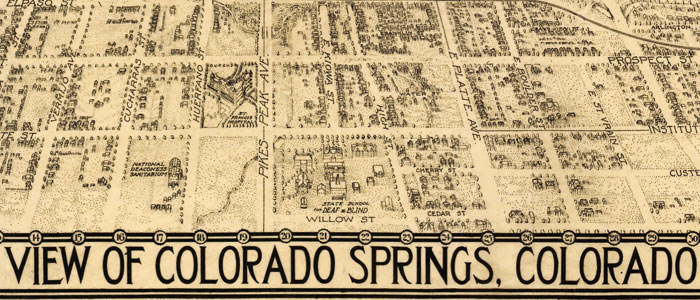 Birdseye View of Colorado Springs image