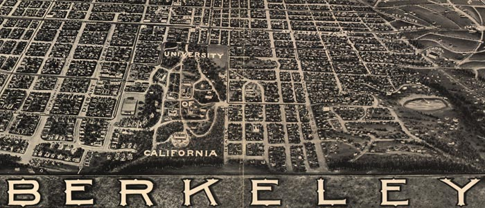 Birdseye View of Berkeley, Calif. image