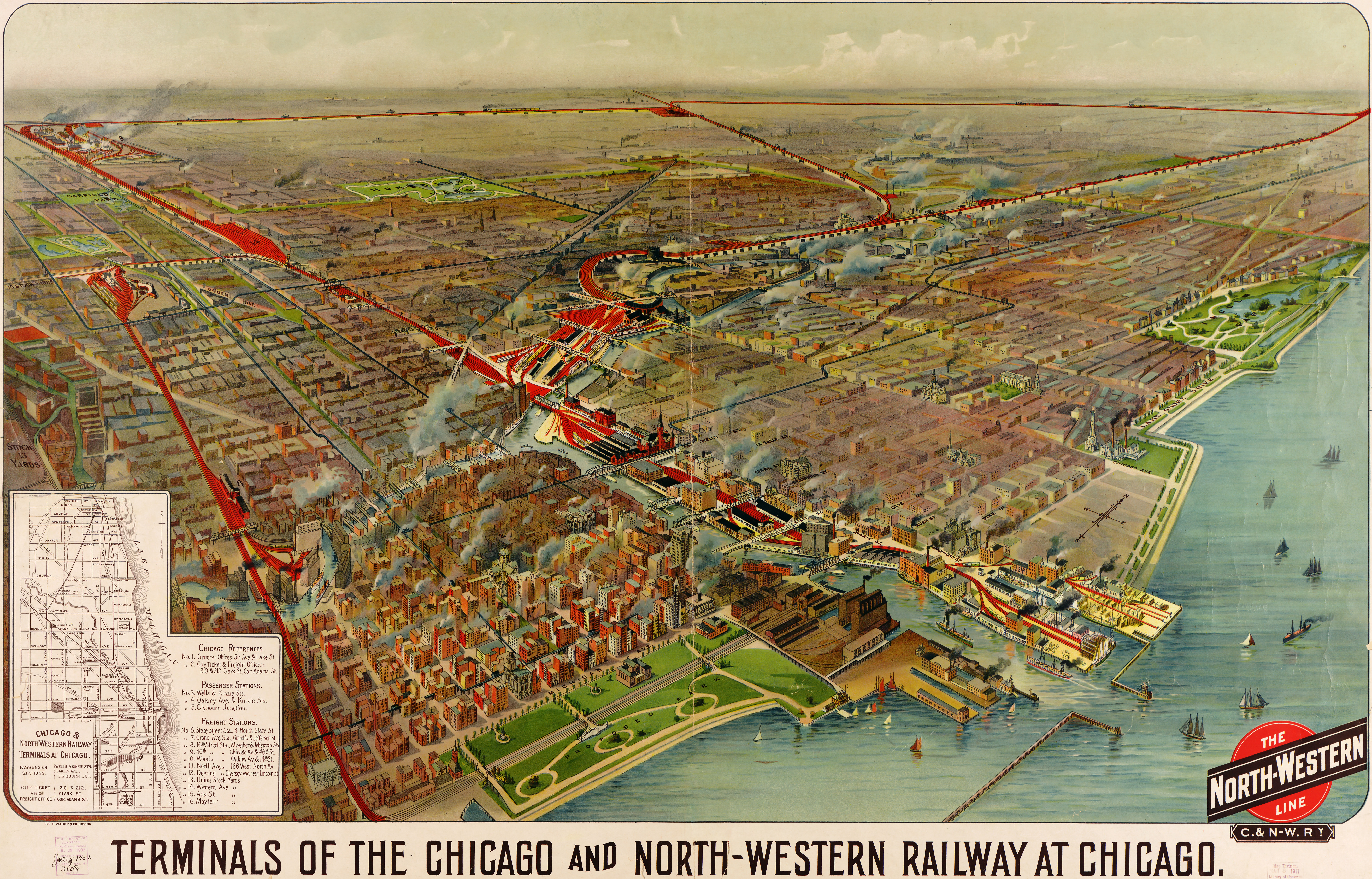 Picture Of Diagram Chicago Map More Maps Diagram And Concept - Chicago map northwest suburbs