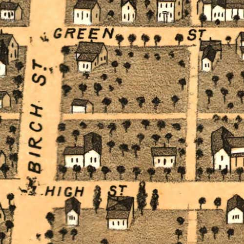 Birdseye view of Urbana, Ill. image detail