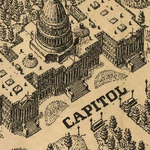 Washington, the Beautiful Capital of the Nation image detail