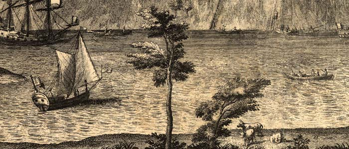 A View of Savannah as it stood in 1734 image