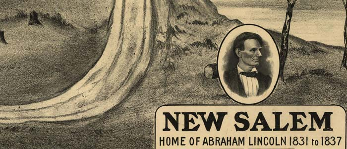 New Salem, home of Abraham Lincoln image